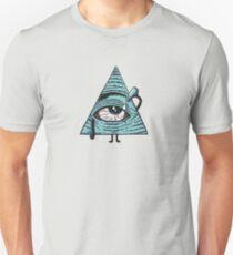 Camiseta ajustada Los Illuminati son horneados