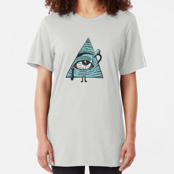 Illuminati Are Baked Slim Fit T-Shirt