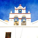 Traditional Holy church, Santorini, Greece by Seller2018KF