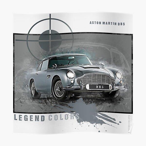Tribute to Aston Martin DB5 Poster