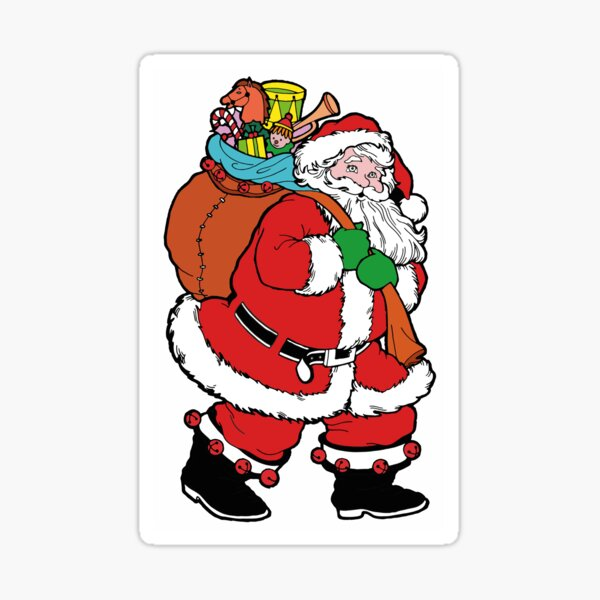 Santa Claus is coming ! Sticker