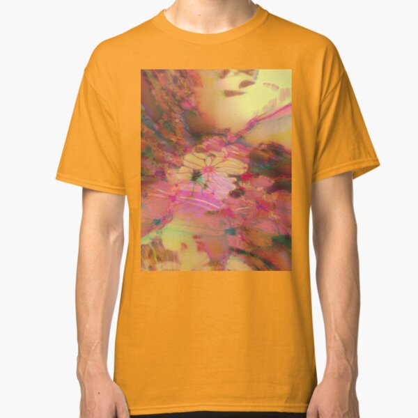 Fraktale Golden Autumn Classic T-Shirt