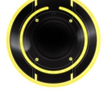 TRon Legacy - Clu's ID Disc by channandeller