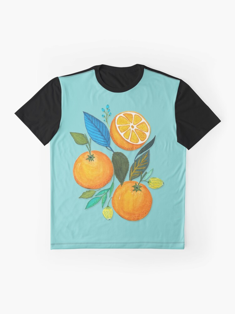 Alternate view of Lady Orange Graphic T-Shirt