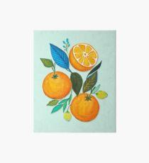 Lady Orange Art Board