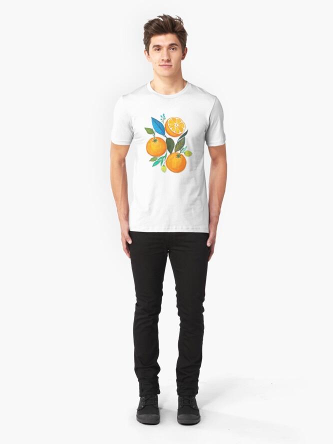 Alternate view of Lady Orange Slim Fit T-Shirt