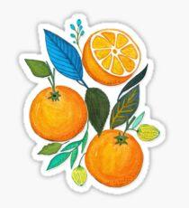 Pegatina Lady Orange