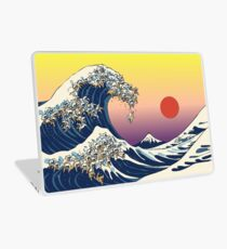The Great Wave of Cat Laptop Skin