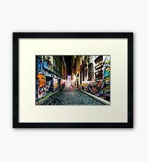 Urban Gallery Framed Print