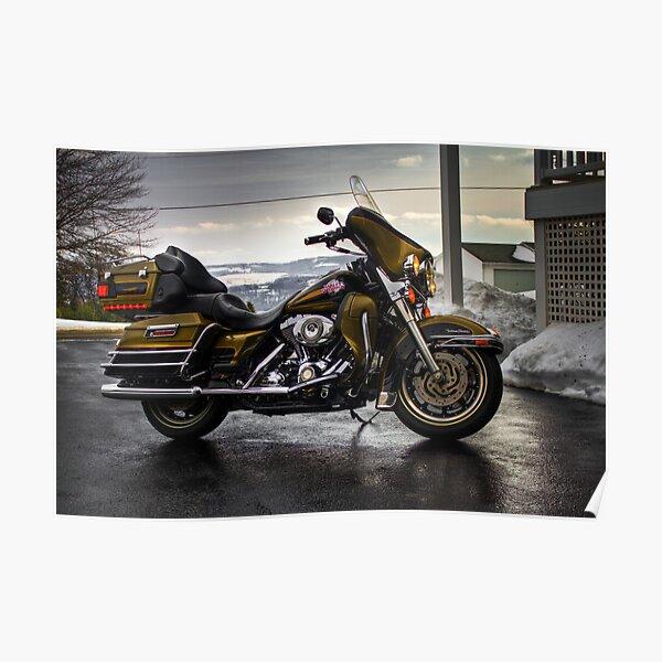2007 Harley Davidson Ultra Classic Poster