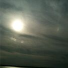 Sun Behind Clouds by BernieG