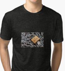 Padlock Tri-blend T-Shirt
