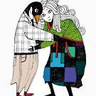 Penguin Drama by katriinaka