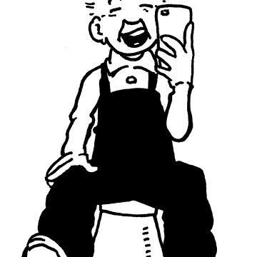 Oor Wullie Selfie by dtkindling