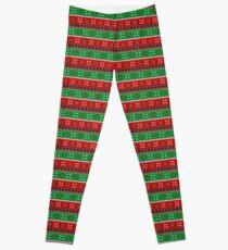 Gepunktete Weihnachten Leggings