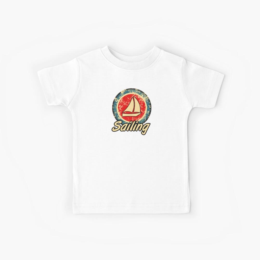 Segeln Retro Kinder T-Shirt
