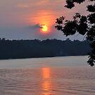 Sunset at Smith Mountain Lake by BernieG