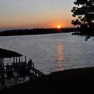 Boats Docking at Sunset by BernieG