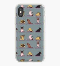 Frenchie Yoga iPhone Case