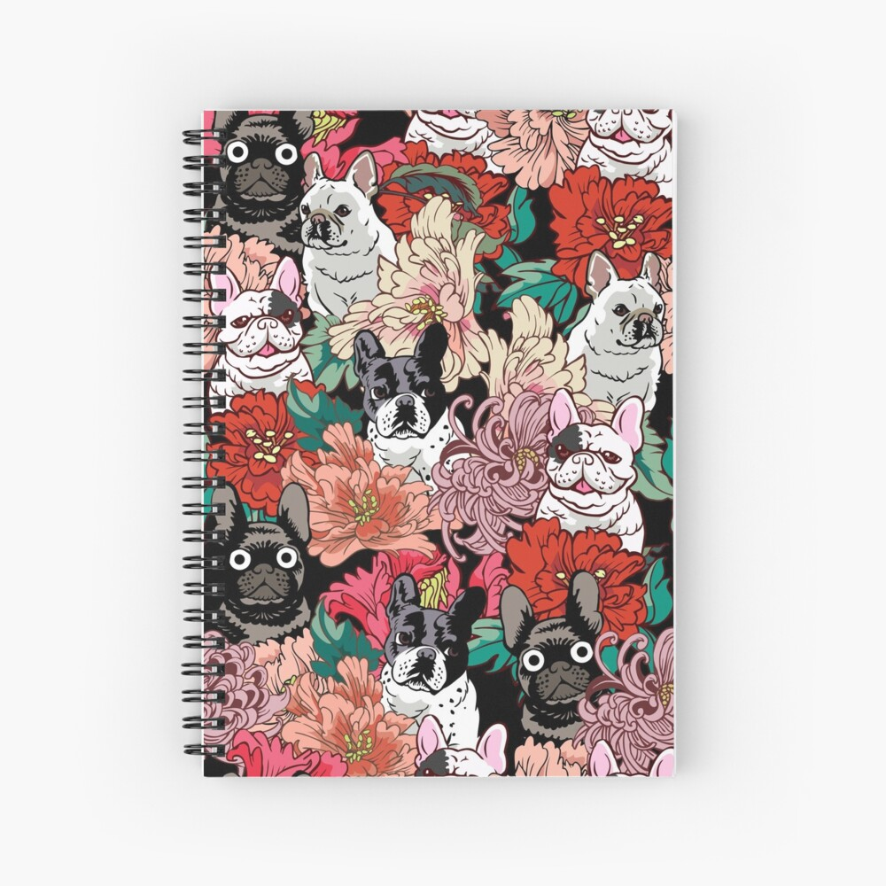 Because French Bulldog  Spiral Notebook