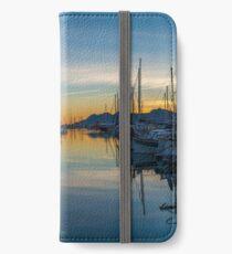 Yachts in Puerto Pollensa iPhone Wallet/Case/Skin