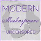 Small Square Logo for Modern Shakespeare Unsensored Podcast by msupodcast