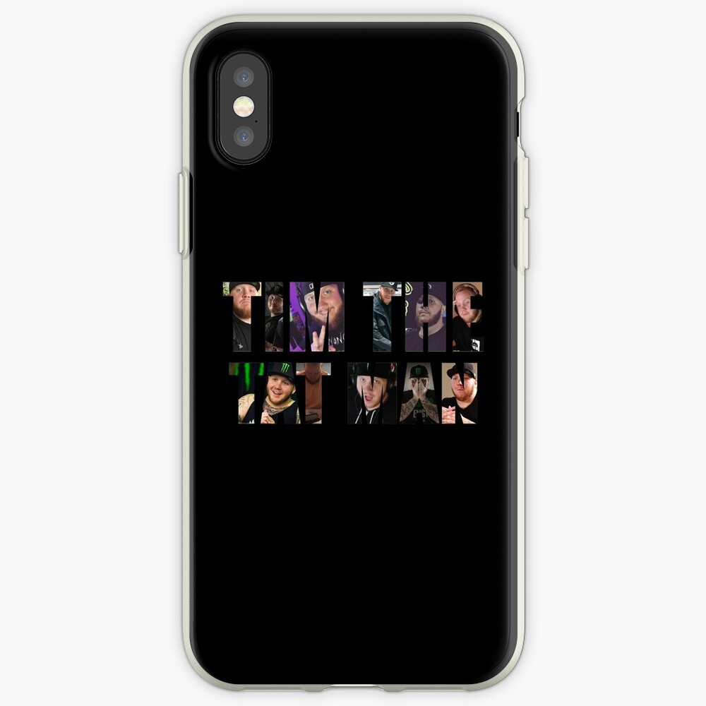 Tim el hombre tat Funda y vinilo para iPhone