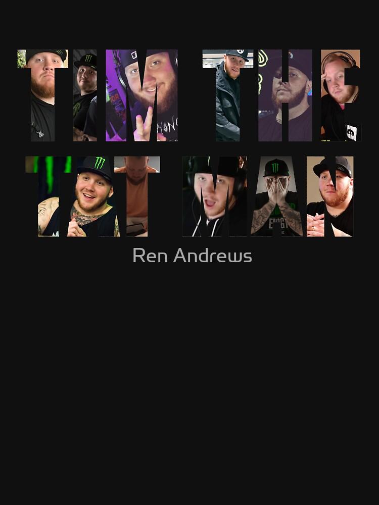 Tim el hombre tat de RensDigitalArt