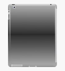 BW stripes iPad Case/Skin