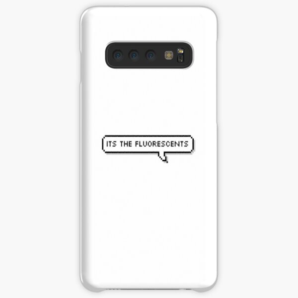 Its the fluorescents Samsung Galaxy Snap Case