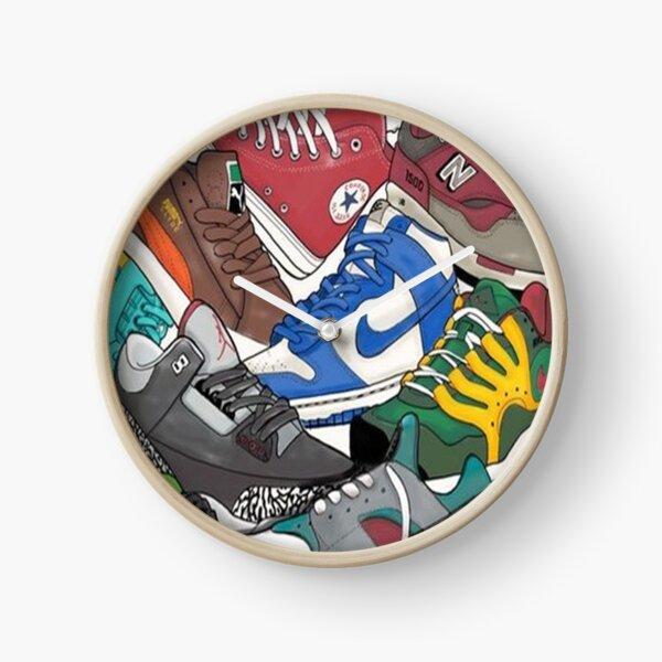 sneaker head Clock