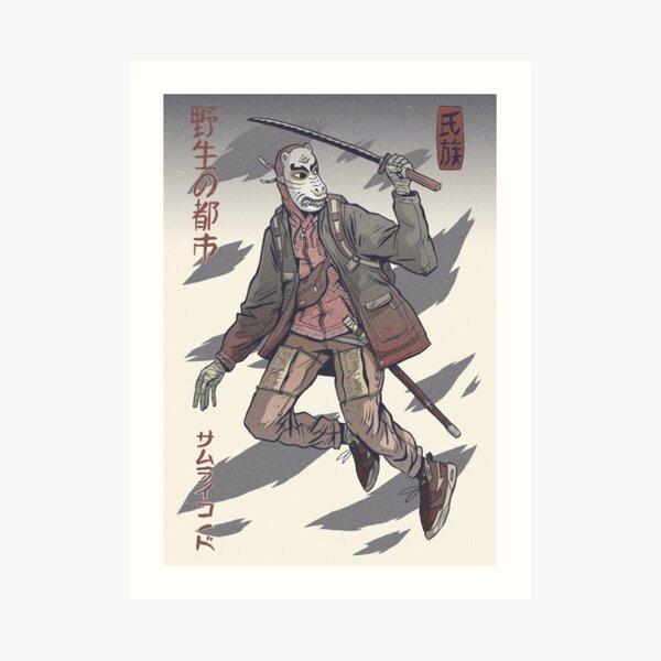 Street Savage Kabuki-Mono #9 Impression artistique