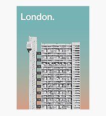 London Architecture - Trellick Tower Photographic Print