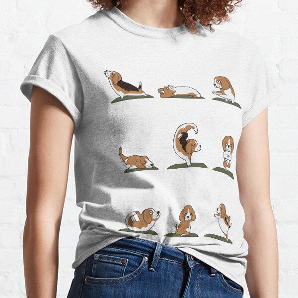 Beagle-Yoga Classic T-Shirt