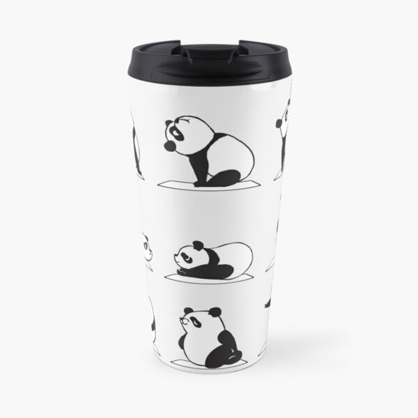 Panda Yoga Thermobecher