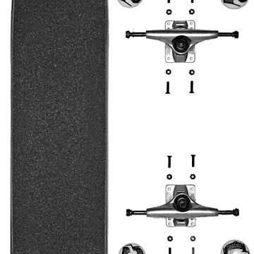 Skateboard (Dismantled) by procrest