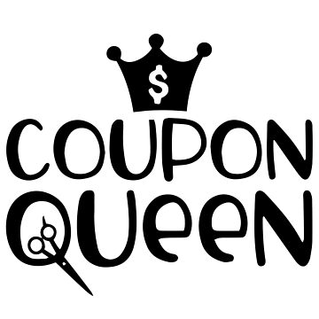 Funny Coupon Queen Shopaholic Couponing Mom Shopping Diva by LoveAndSerenity