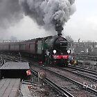 LNER 61306 'Mayflower' at Clapham Junction by Rorymacve