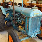 Fordson tractor by JuliaKHarwood