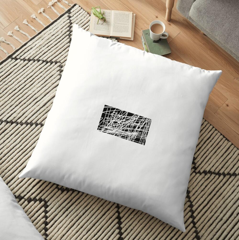 Art Floor Pillow