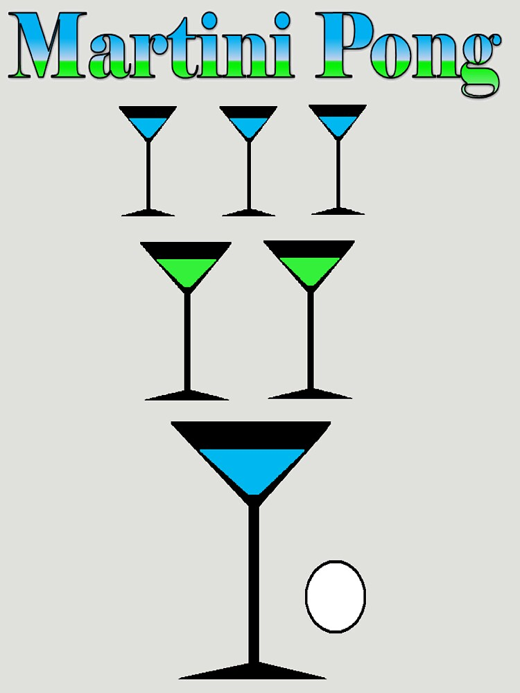 Martini Pong by PrettyNickie