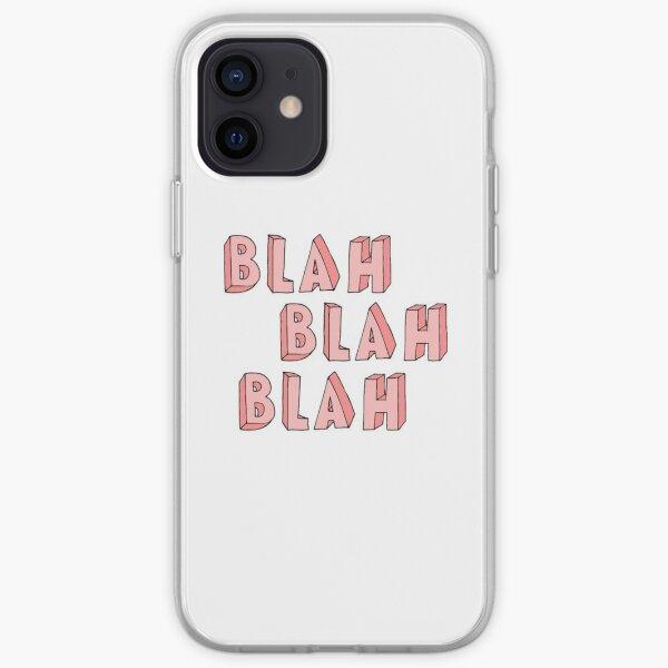 blah blah blah iPhone Soft Case