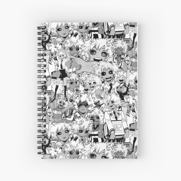 Mina Ashido Collage Spiral Notebook