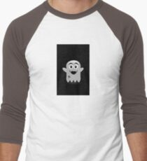 Spooky ghost Men's Baseball ¾ T-Shirt
