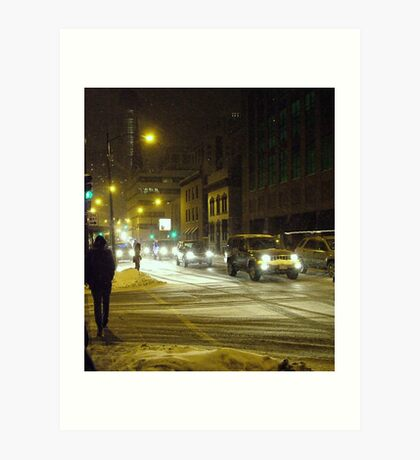 Oh babe its cold outside... Art Print