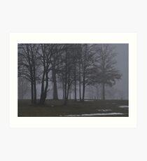 Giants in the Mist Art Print