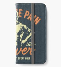 Turn The Pain iPhone Wallet/Case/Skin