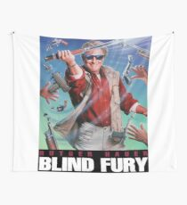 Blind Fury 01 Wall Tapestry