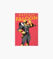 Captain Falcon Art Board