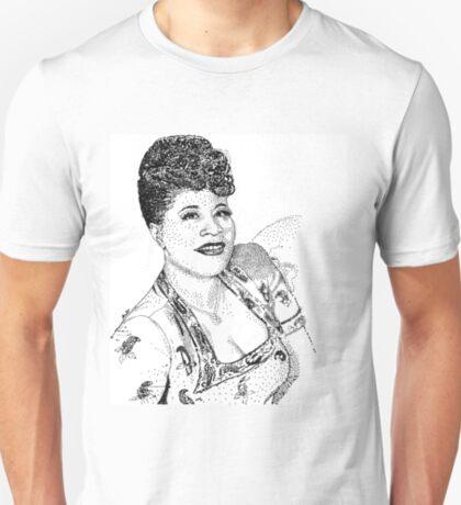Ella Fitzgerald Famous Jazz Musician T-Shirt